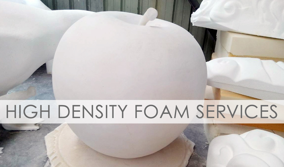 Sculpture Source Asia High Density Foam Services